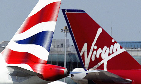 British airways with Virgin Atlantic